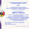 Invitacion debate publico